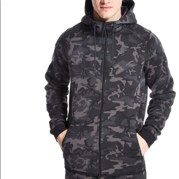 1f6a9b066591 Nike Tech Fleece Windrunner Hoodie Jacket. M 5ac64ee82c705d6feed70dad